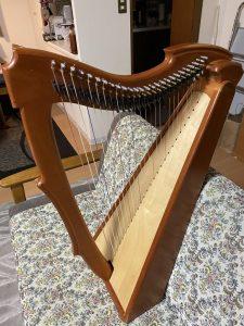 Limerick Irish Harp 26弦フルレバー USED品 SOLDOUT!